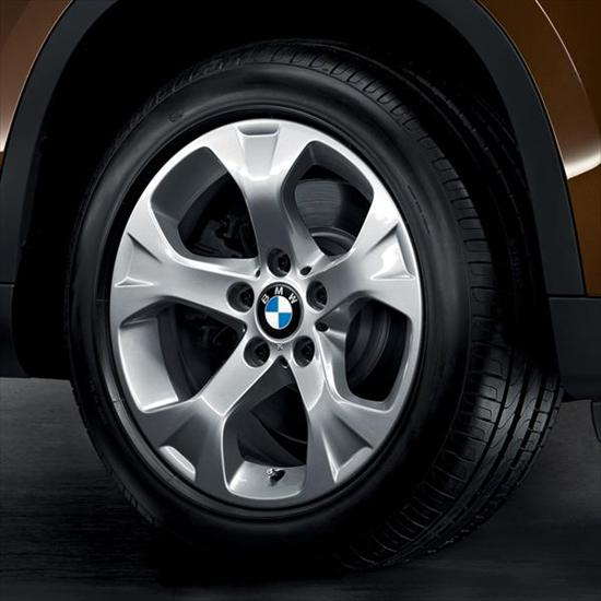"BMW 17"" Style 317 Cold Weather Complete Wheel and Tire Set"