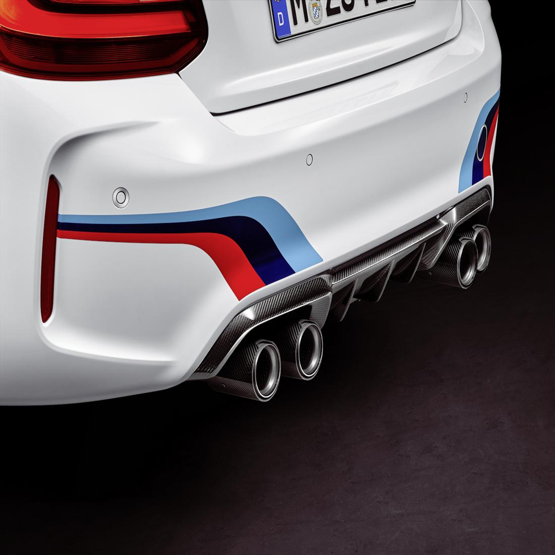 BMW M Performance Exhaust Titanium Tips