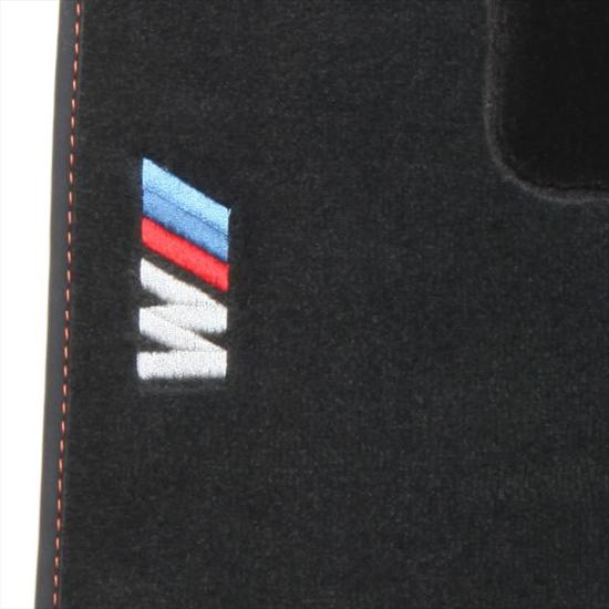 BMW 1M Embroidered Carpeted Floor Mats