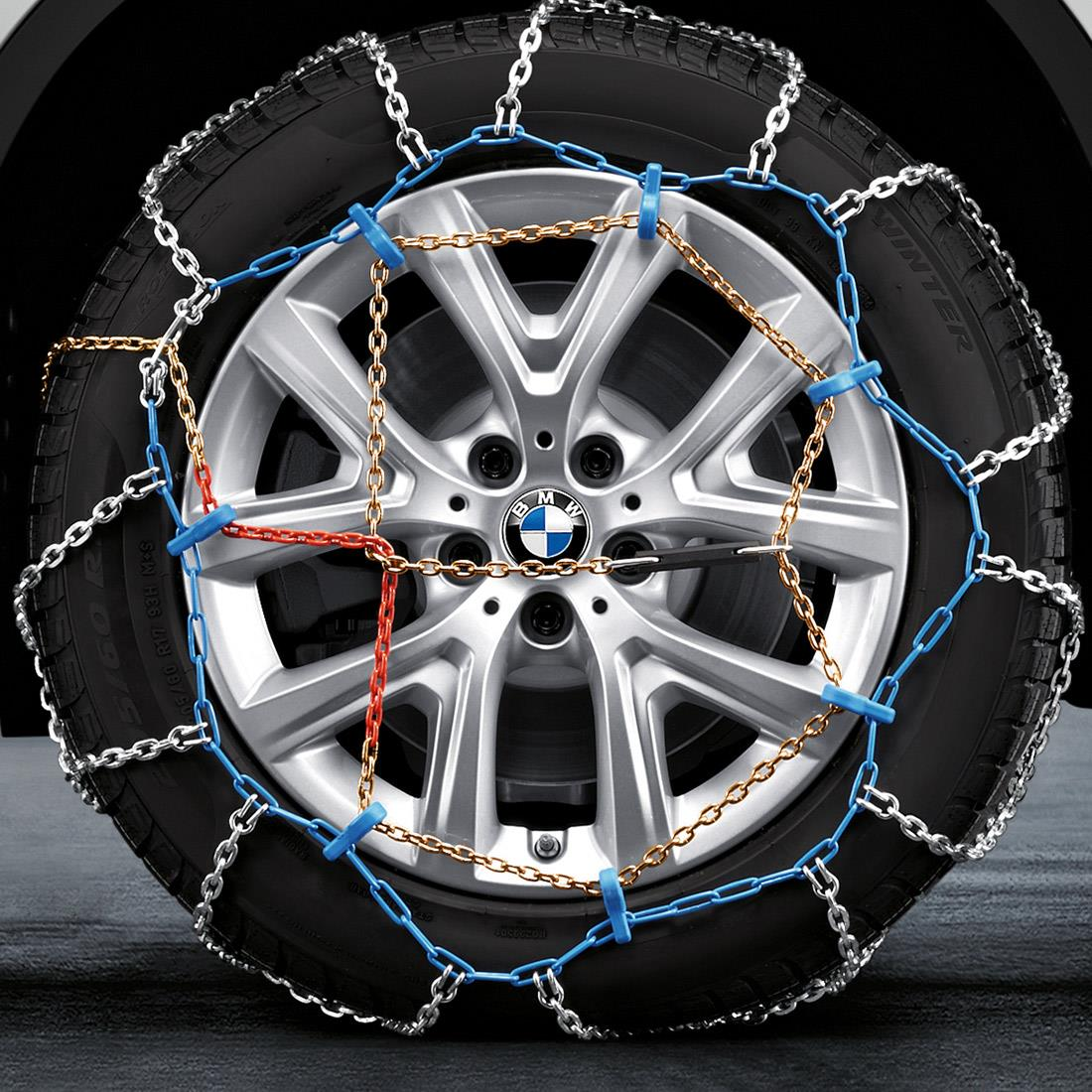 BMW Snow Chain System for 225/50R17 & 225/55R16.