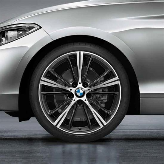 BMW Style 660 Orbit Grey Complete Summer Wheel & Tire Set