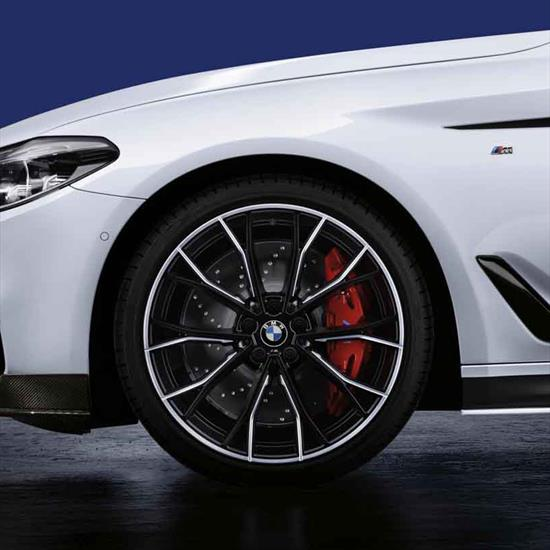 BMW M Performance Brake System, Red