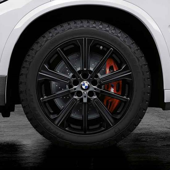 "BMW M Performance Style 748M 20"" All-Terrain Complete Wheel And Tire Set"