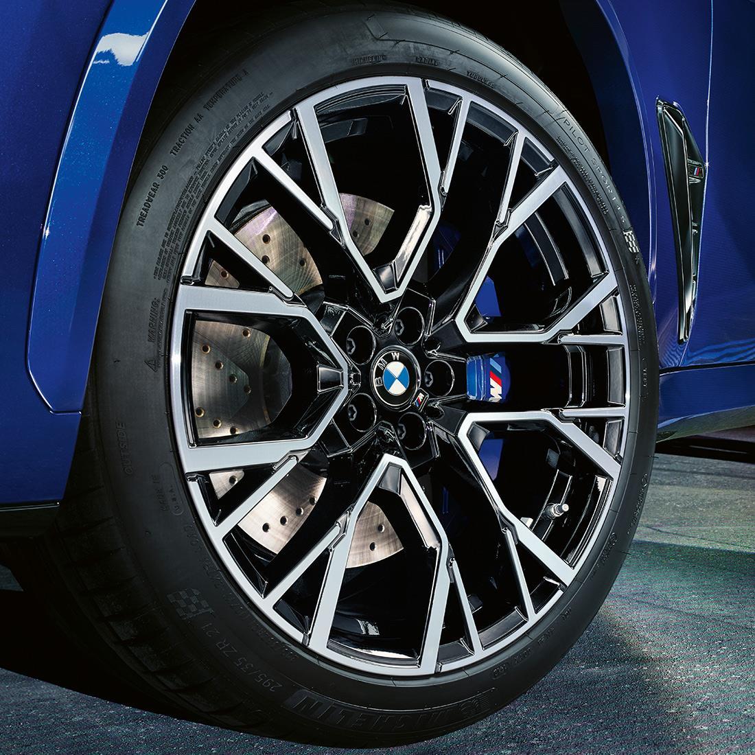BMW M Performance Complete Wheel Set, Syte 809M in Jet Black Matt Finish