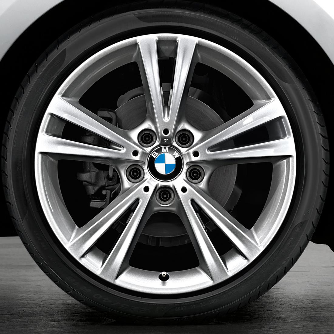 BMW 18 Inch Style 385 Cold Weather Wheel & Tire Set