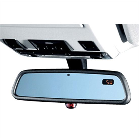 BMW Rearview Mirror with Compass