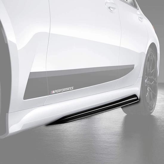 BMW M Performance Side Skirt Black High-Gloss