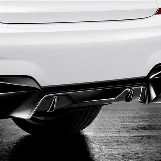 BMW M Performance Rear Diffuser Black High-Gloss