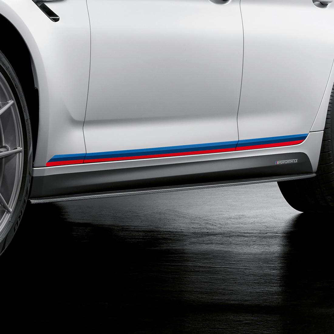 M Performance Motorsport stripes