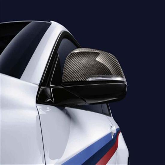 BMW Carbon Fiber Mirror Caps