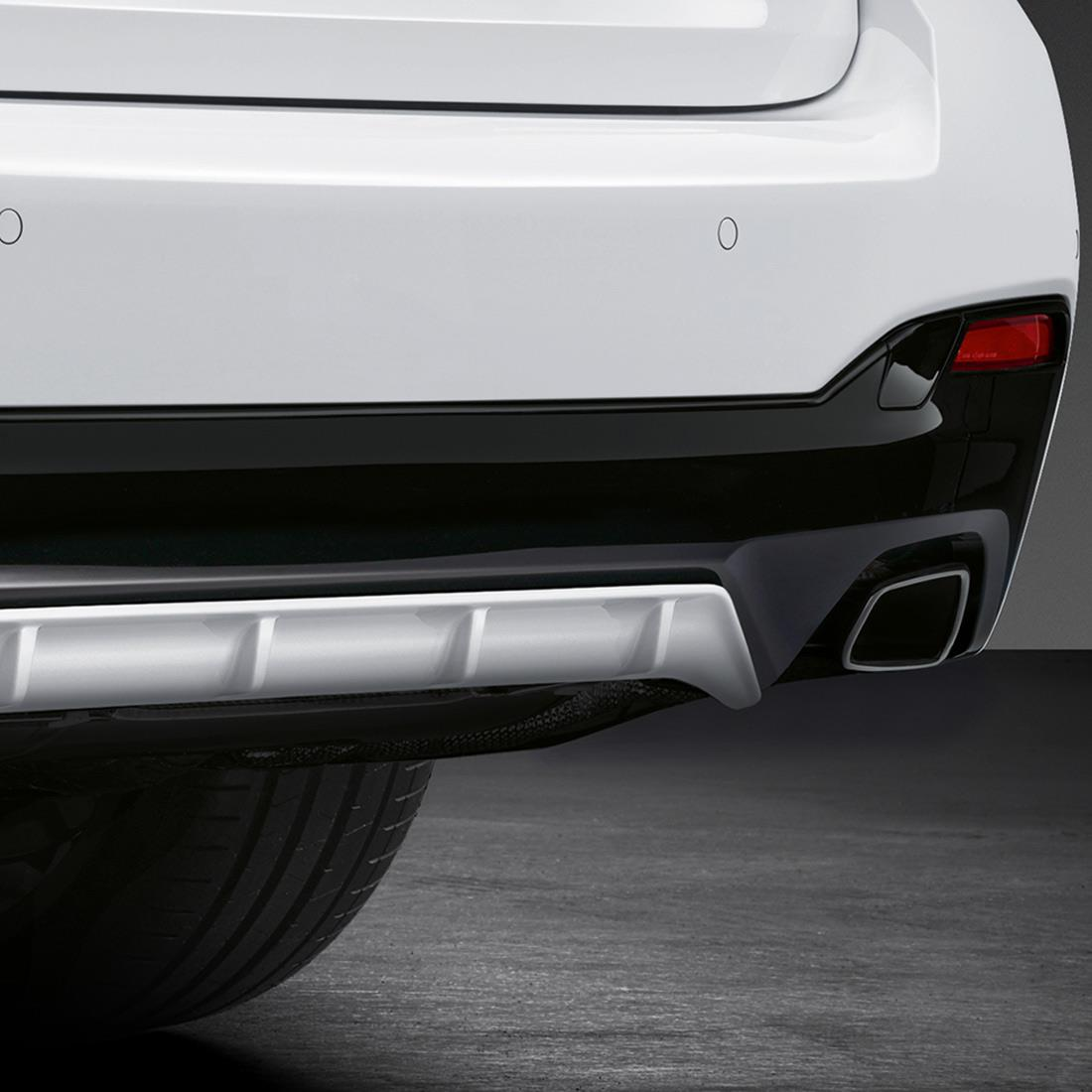 M Performance Rear bumper trim in black high-gloss