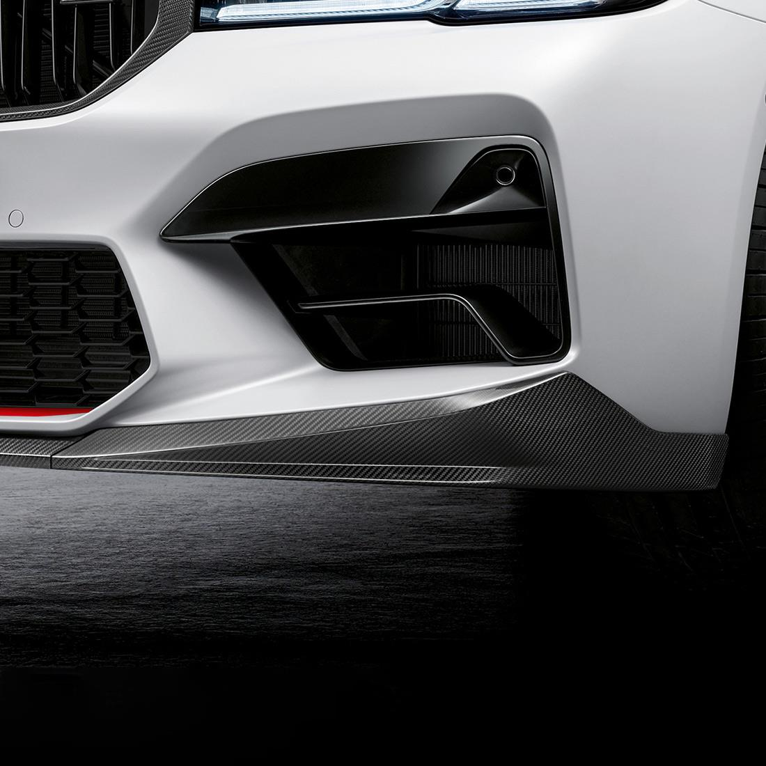 M Performance Front splitter in carbon fiber