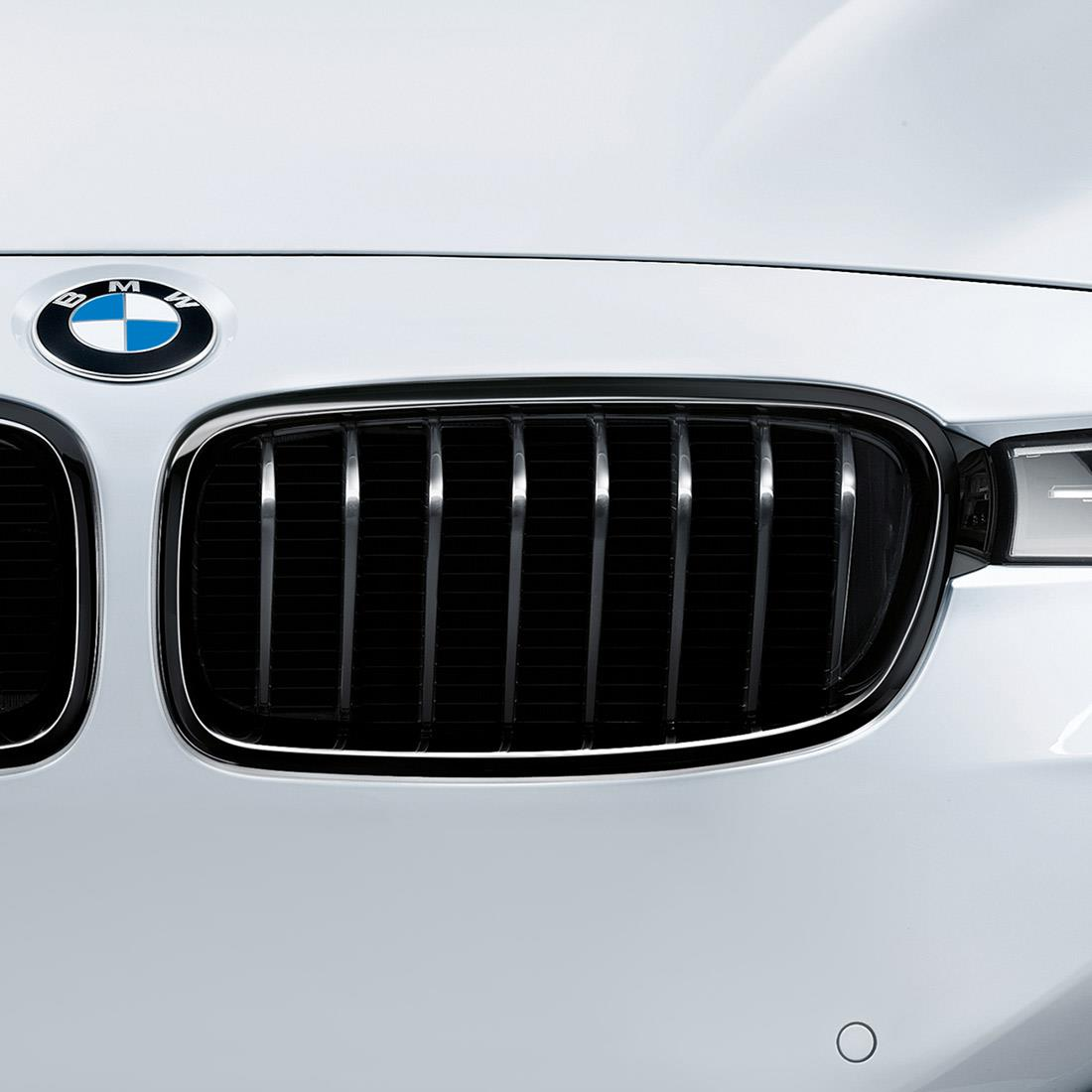 BMW M Performance Black Kidney Grilles for 3 Series