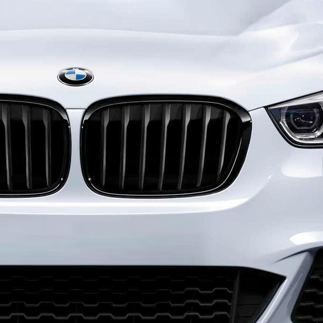 BMW M Performance Black Kidney Grille for X1