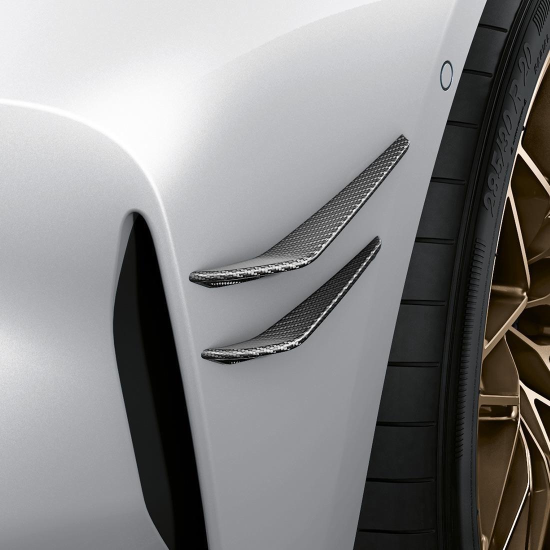 M Performance Flicks in carbon fiber