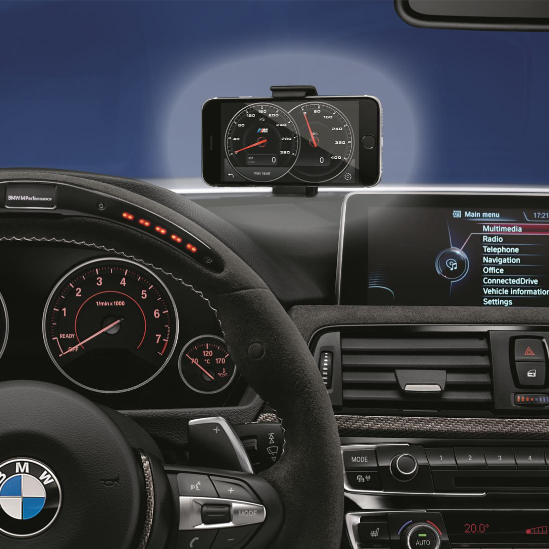 BMW Click & Drive System (fits standard iPhone 4, 5, 6, 7 & 8 models)