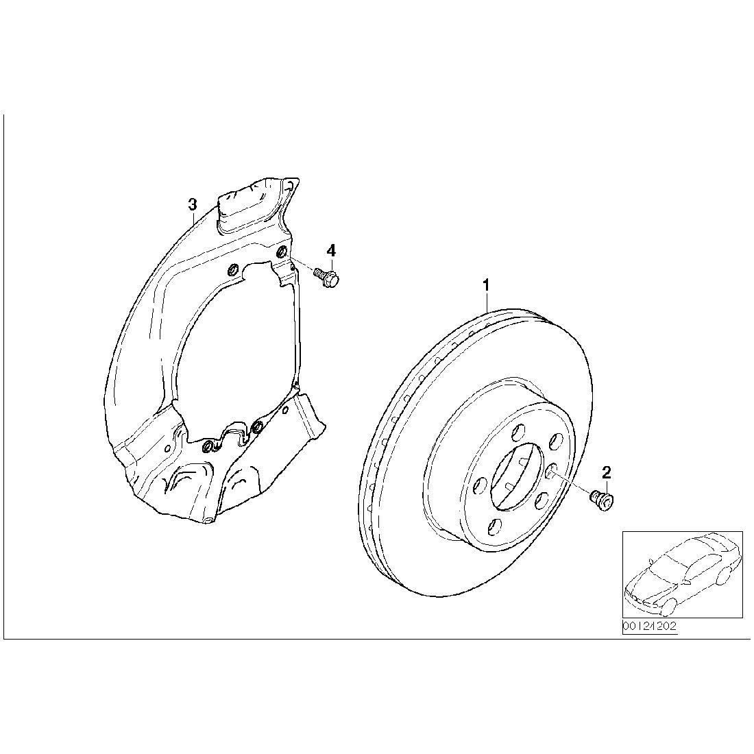 Brake disc, ventilated