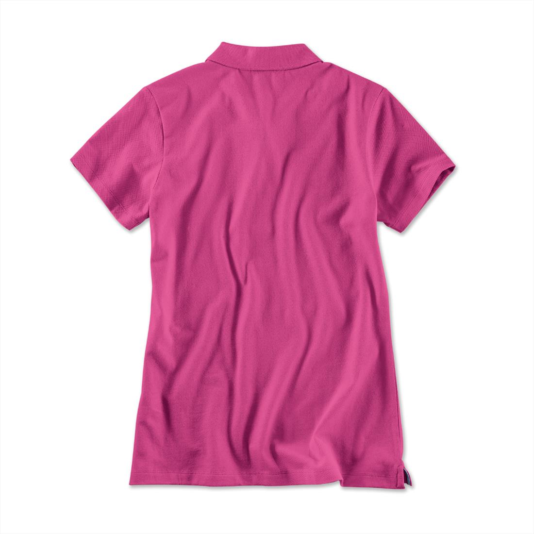 BMW Polo Shirt Women's Fuchsia