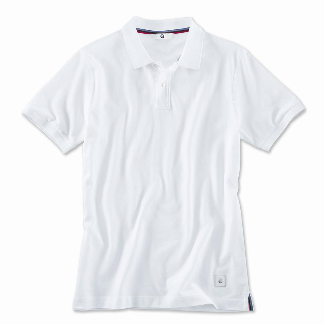 BMW Polo Shirt Men White