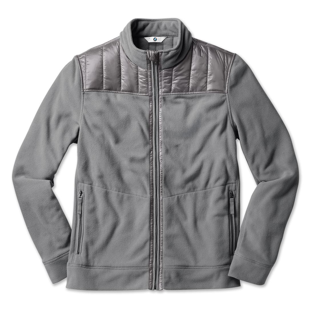 Shopbmwusa Com Bmw Fleece Jacket Men S Grey