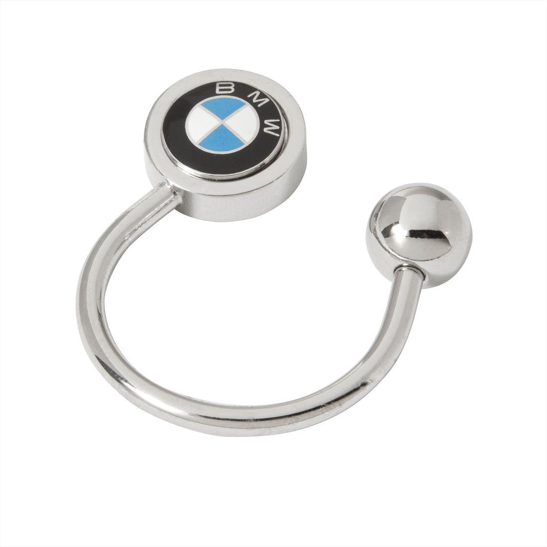 BMW Roundel Horseshoe Key Ring