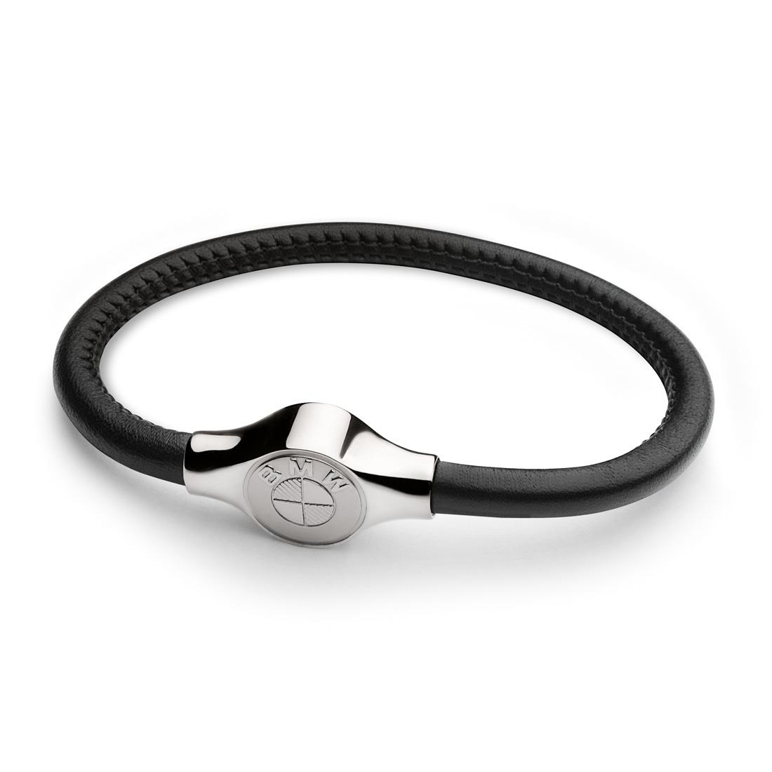 BMW Leather Bracelet