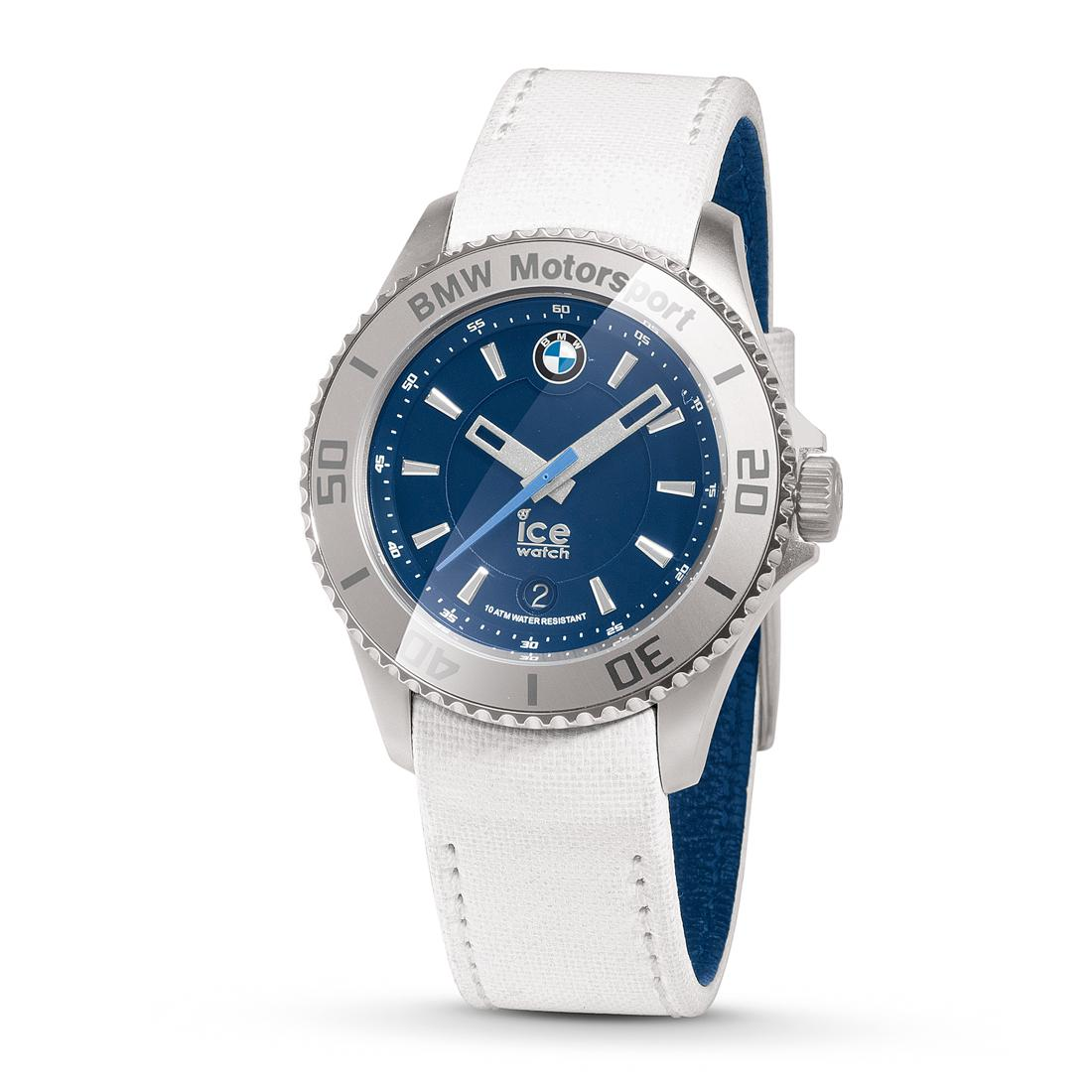 BMW Motorsport Steel Ice Watch