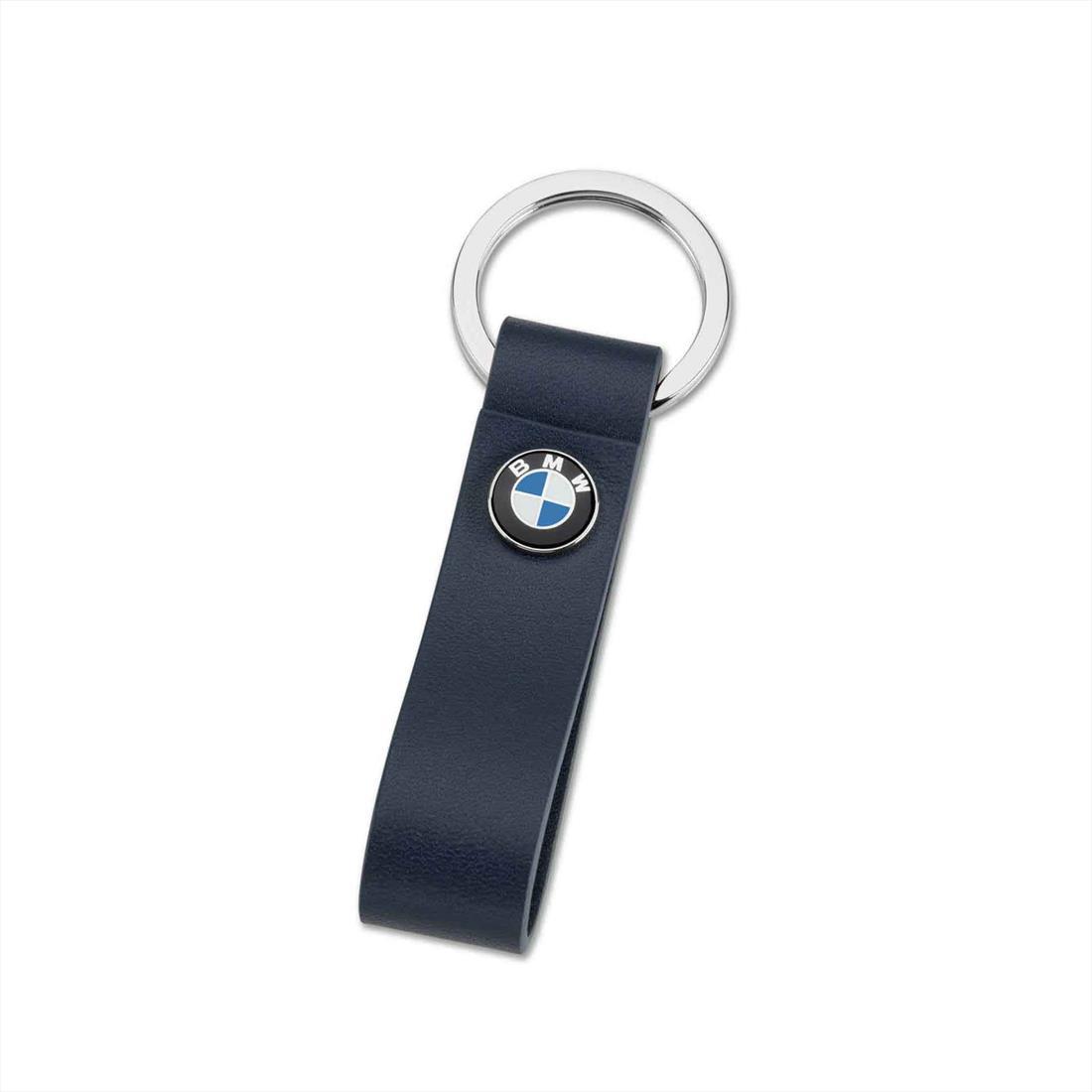 BMW LEATHER LOOP KEY RING