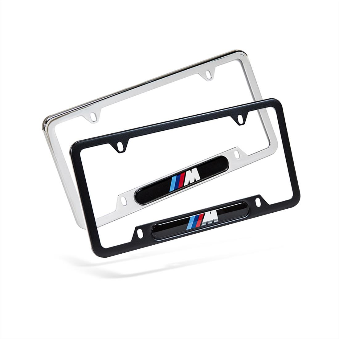 BMW M Logo License Plate Frames