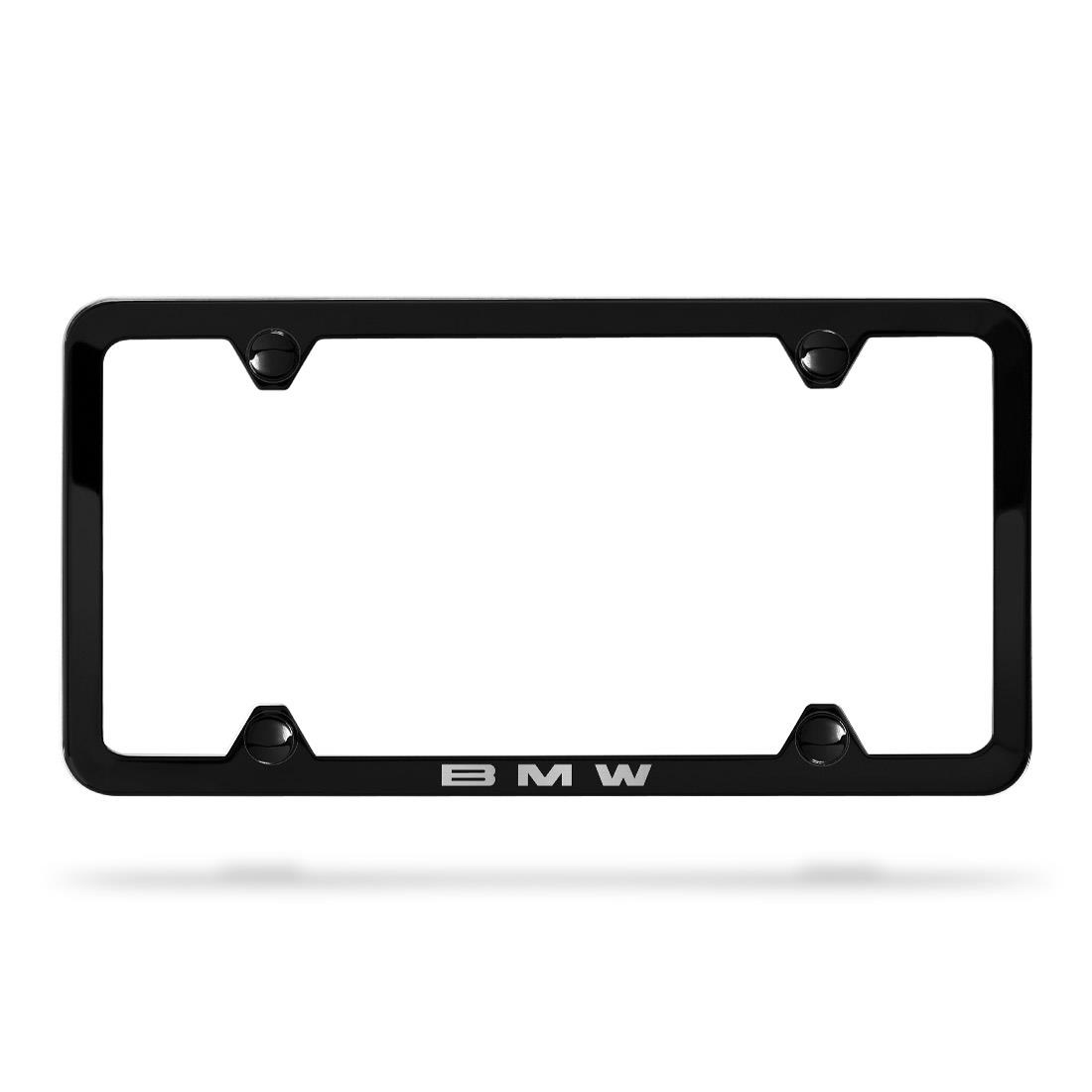 BMW Laser Slimline License Plate Frame
