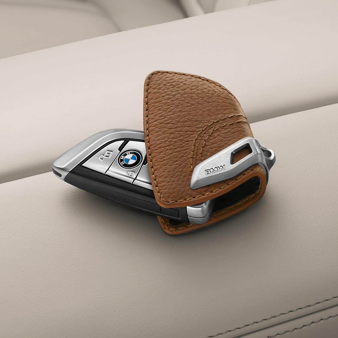 BMW Key Case - Brown