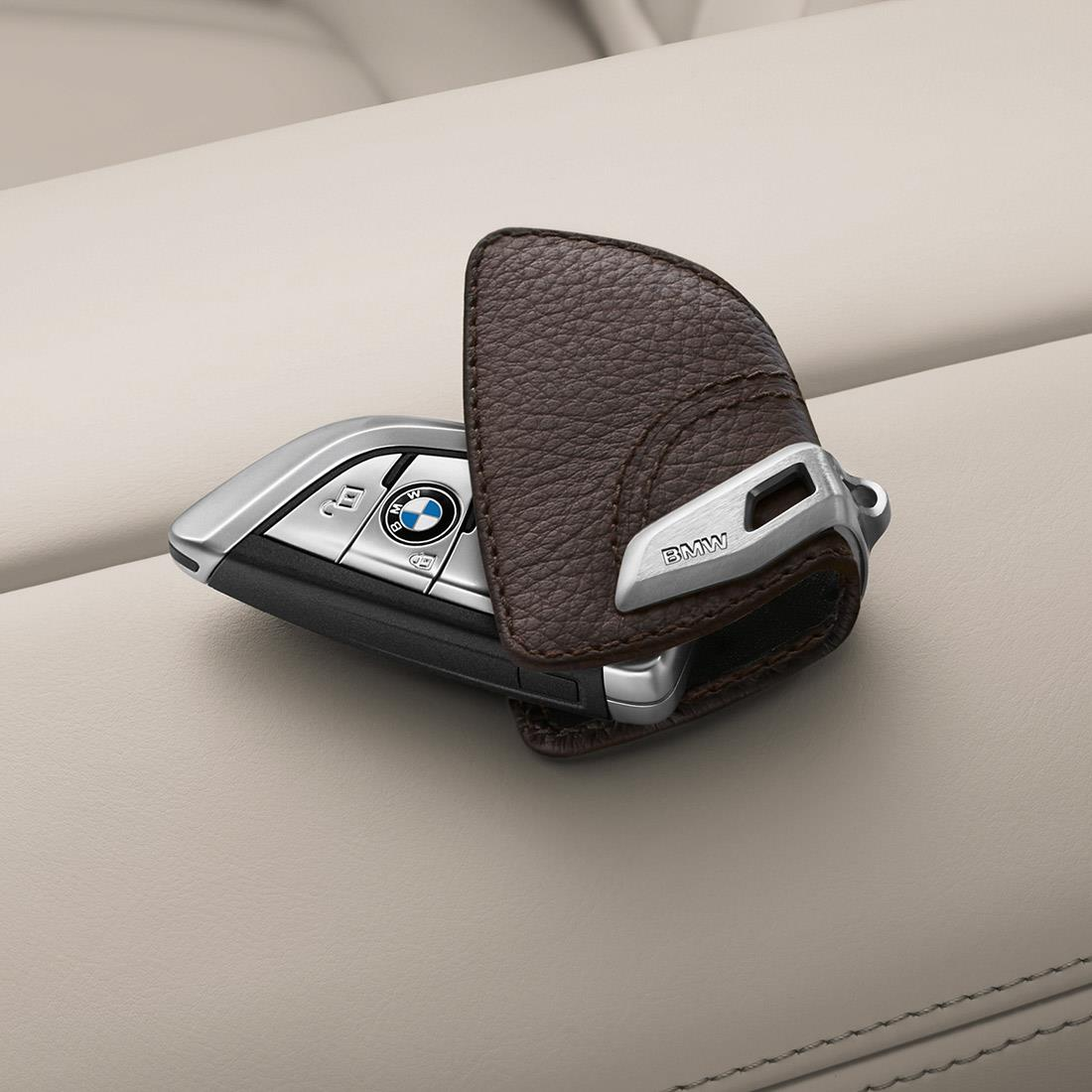 BMW Key Case - Mocha