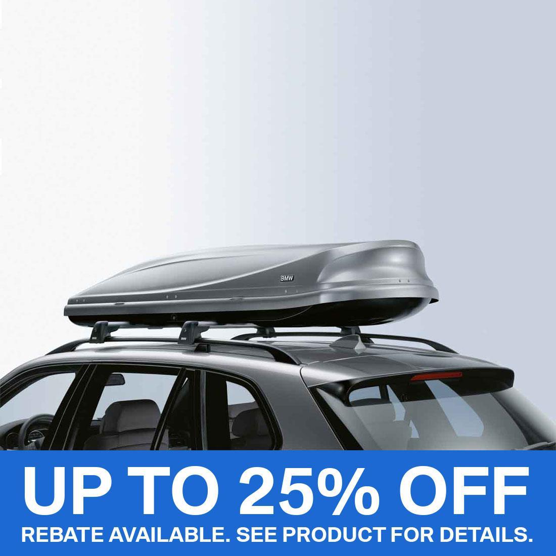 BMW Roof box 420 Black/Titan Silver