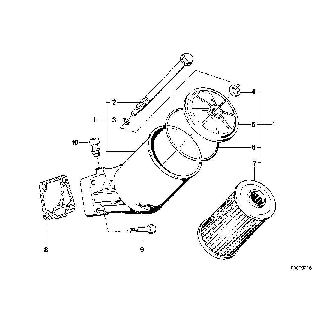 Set oil-filter element