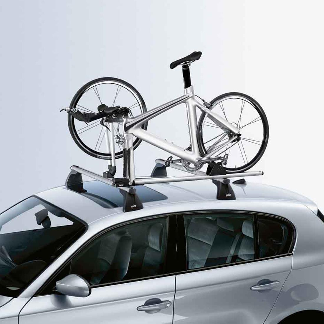 BMW Racing cycle holder for roof transport