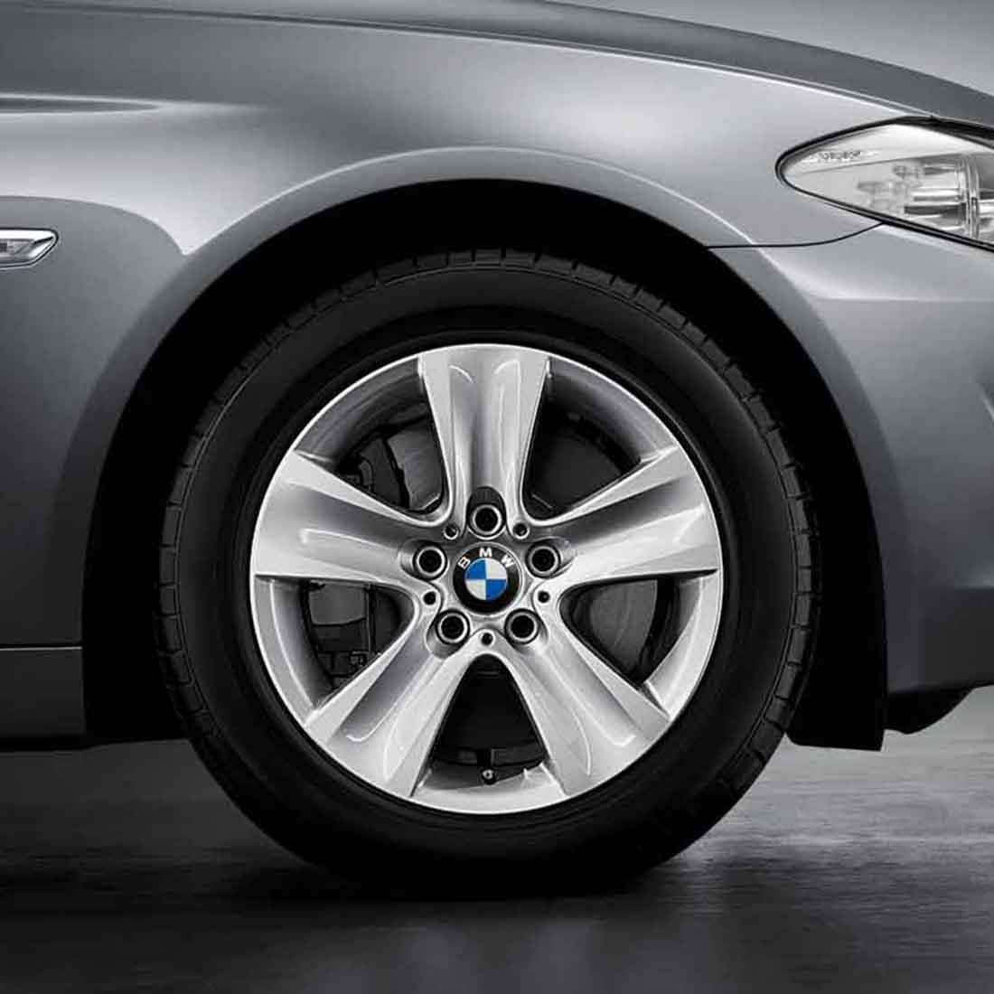 """BMW 17"""" Style 327 Cold Weather Complete Wheel and Tire Set"""