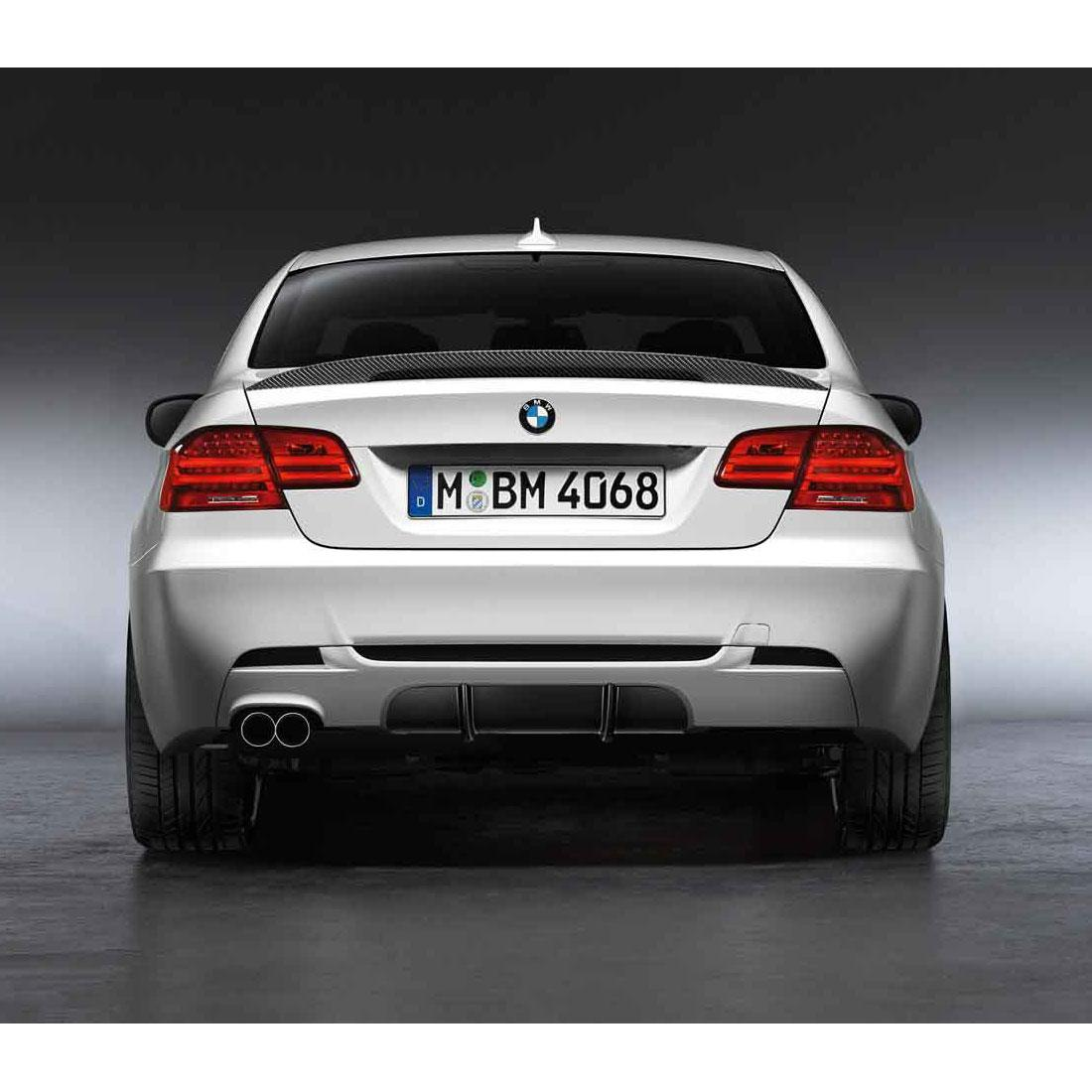 Rear Carbon Diffuser for M Rear Bumper