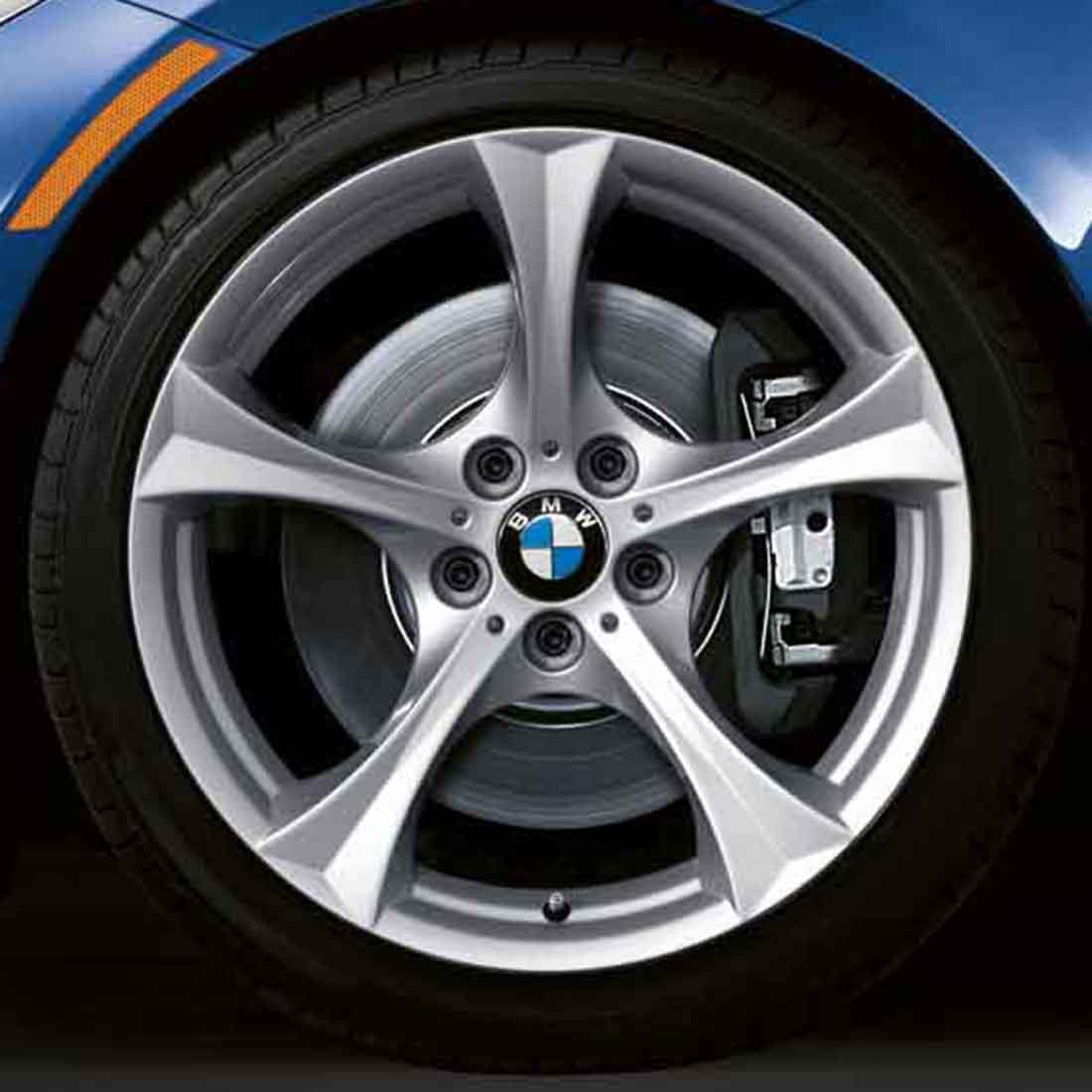 BMW Winter Complete Wheel & Tire Set, Style 276M Silver