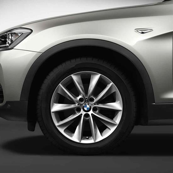 """BMW 18"""" Style 307 Cold Weather Complete Wheel and Tire Set"""