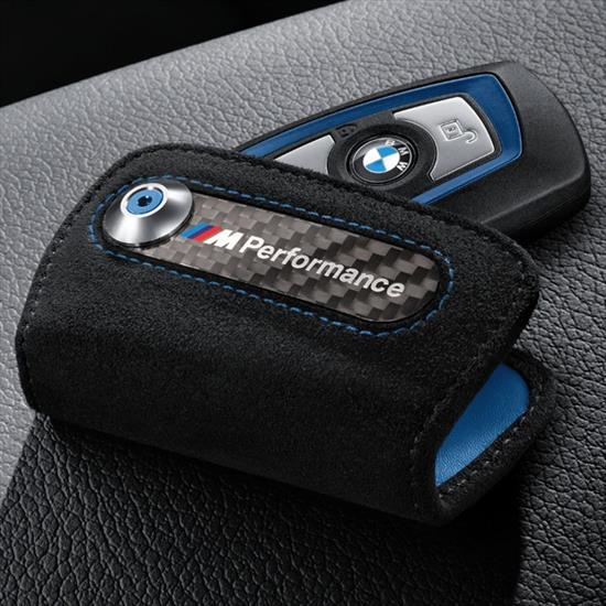 M Performance Key case in Alcantara/carbon fiber