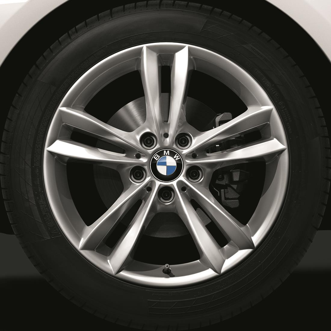 BMW Winter Complete Wheel Set, Style 658 in Silver