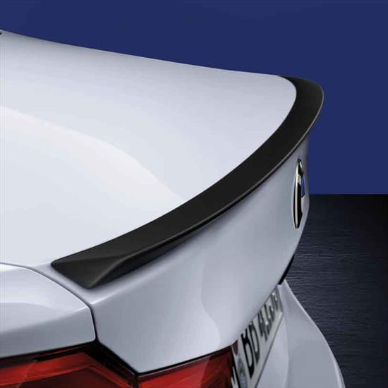 BMW M Performance Rear Spoiler, Matte Black