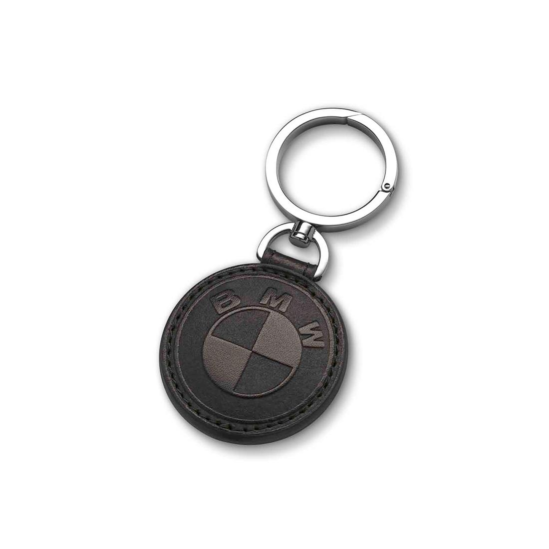 BMW KEYRING, LEATHER