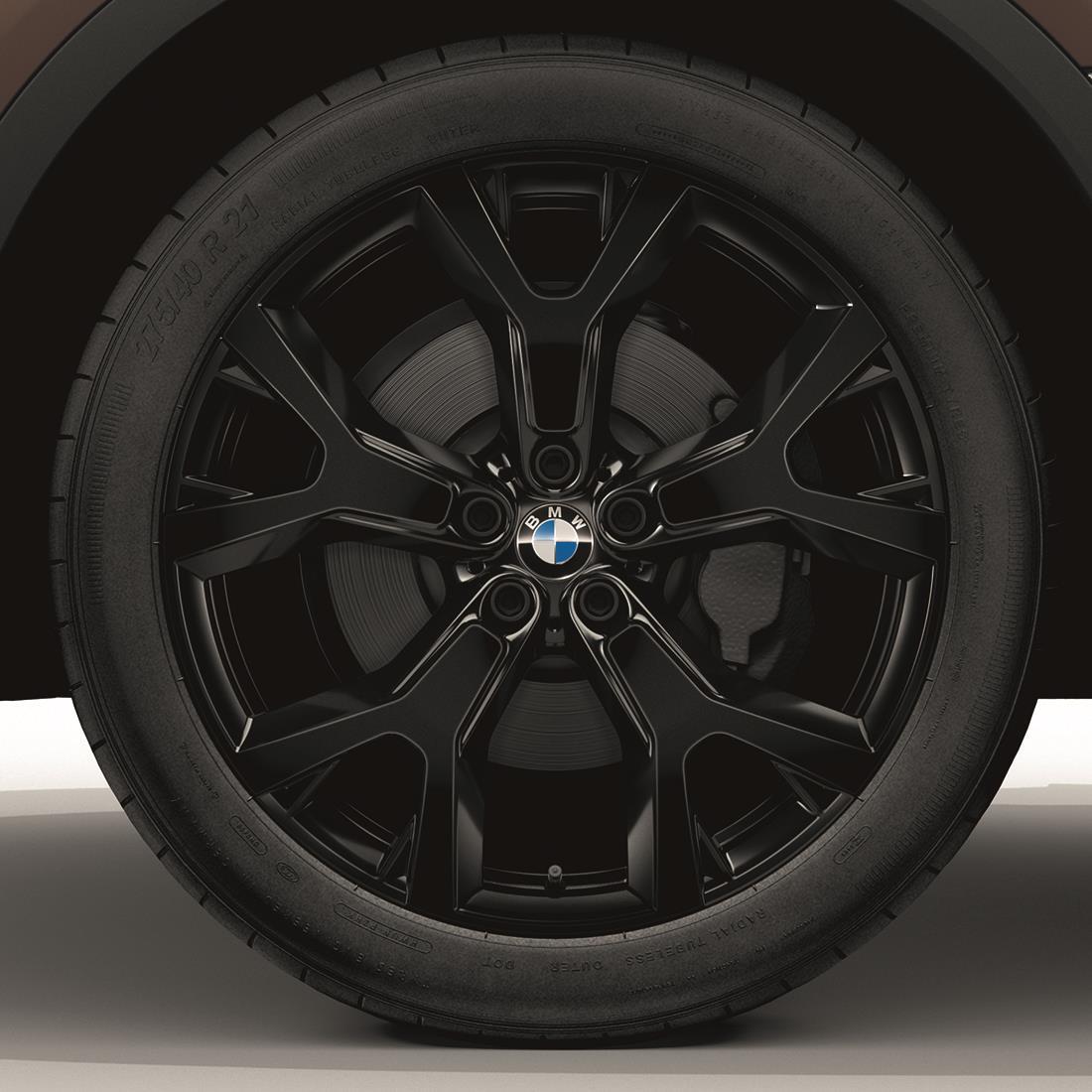 BMW Winter Complete Wheel & Tire Set, Style 752, Black