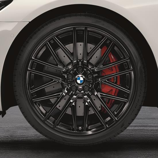 """BMW M Performance Style 650M 21"""" Complete Wheel And Tire Set"""