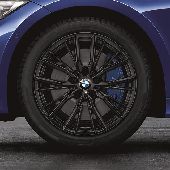 Shopbmwusa Com Bmw M Performance 18 Inch Style 796m Matte Black Complete Summer Wheel And Tire Set