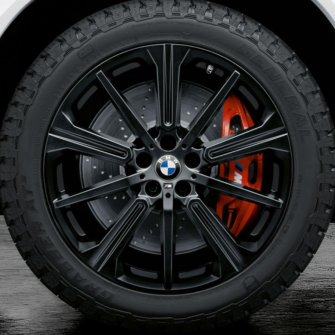 """BMW M Performance Style 748M 20"""" All-Terrain Complete Wheel And Tire Set"""