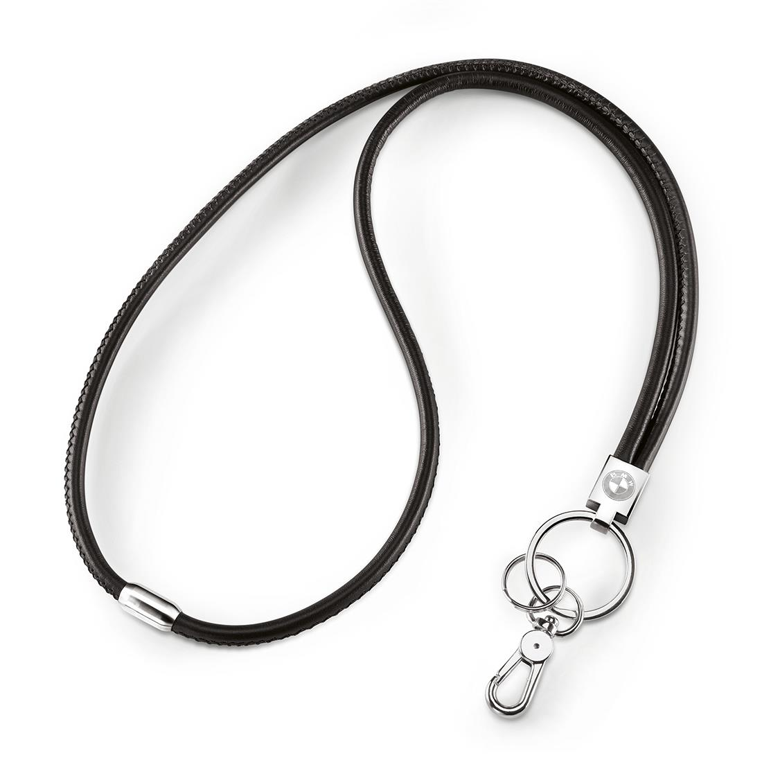 BMW Leather Lanyard