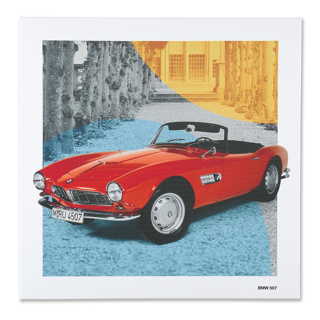 BMW Classic Canvas Art Print BMW 507