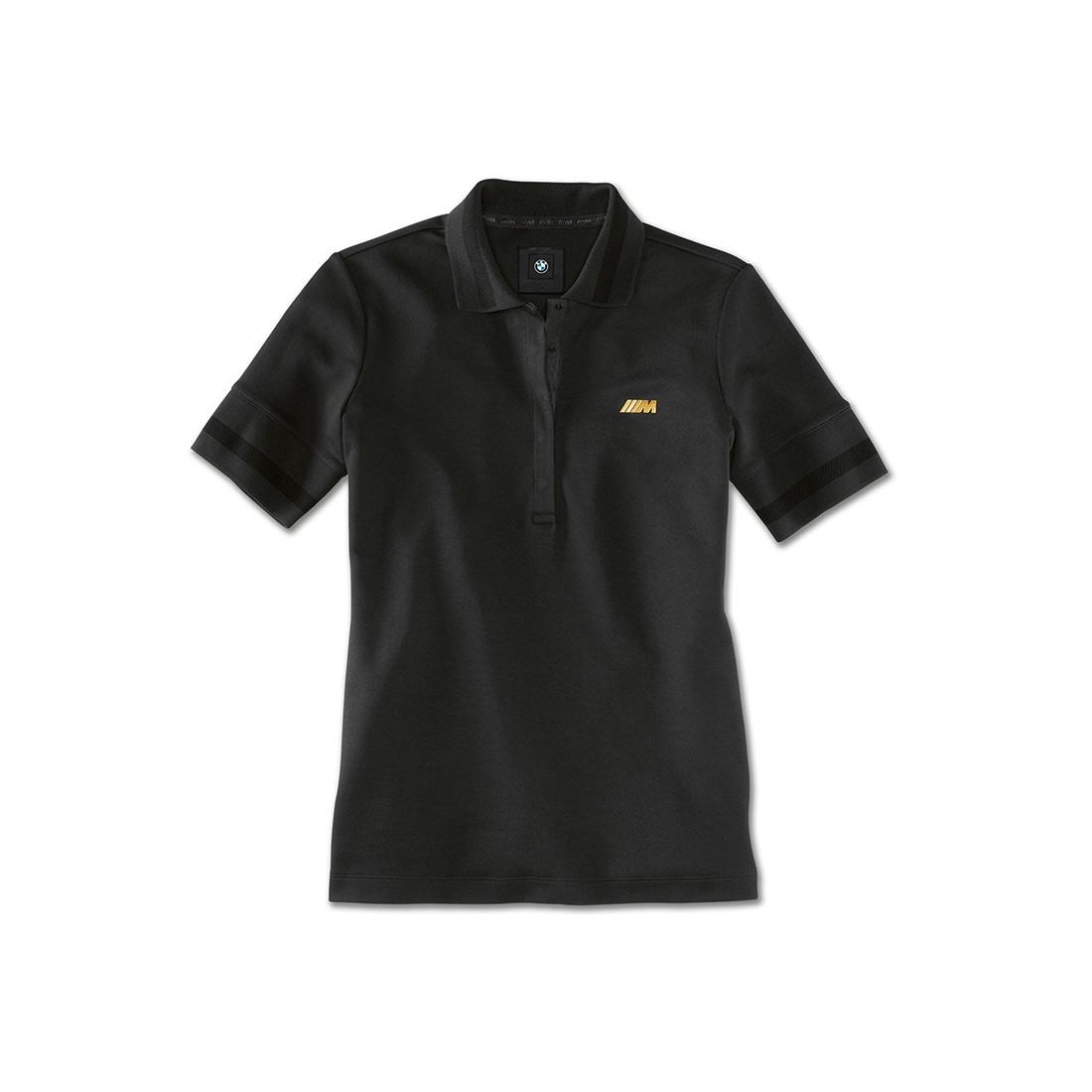 BMW M LADIES POLO SHIRT - BLACK
